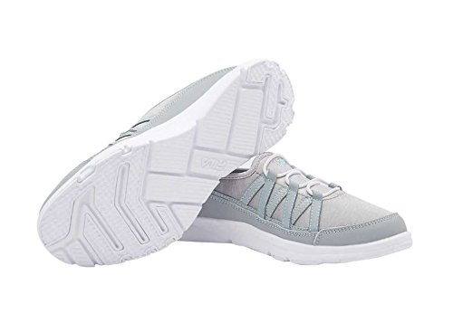 Slip Foam Sneaker Shoe Women's Fila Pilota Grey On Memory Breathable tfXpH
