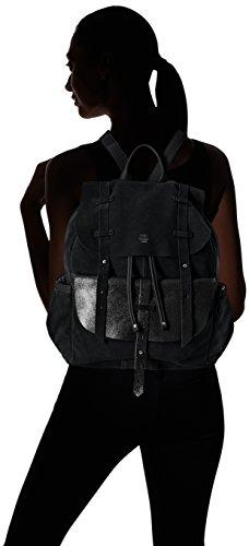 Mila Louise - Juliet Croute/spark Noir, Bolsa llevado de vuelta Mujer, 17x38x30 cm (W x H L)