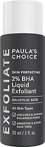 Paula's Choice Skin Perfecting 2 % BHA Liquid Peeling – ansiktsexfoliator med salicylsyra – hud exfoliating mot Mitesser & Pickel – porförminskning – blandhy till fet hud – 30 ml