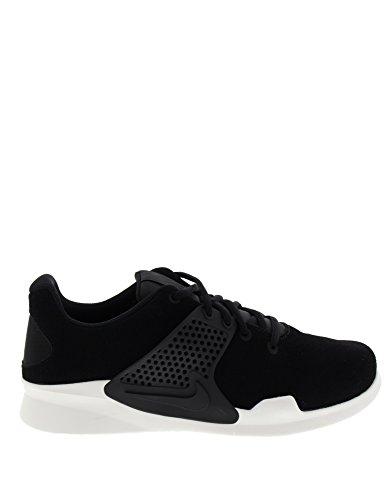Nike Arrowz Prem Herren, Nubukleder, Sneaker Low Schwarz