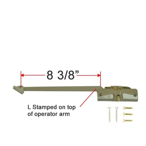 (Andersen® Straight Arm Operator (Left Hand) with 8-3/8
