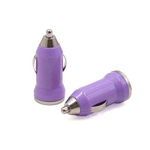 Amazon.com: eDealMax Adaptador cargador 2pcs púrpura del ...
