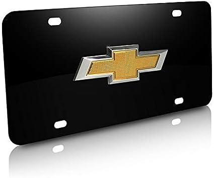 Chevy License Plate Black//Silver Brand NEW!!