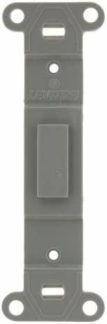 Leviton 80700 GY Toggle Plastic adapter