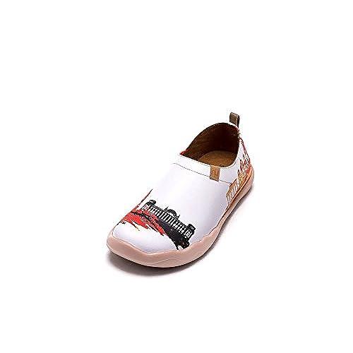 4406f473e En venta UIN Apariencia nueva de Berlín Zapatos de cuero blanco para las  mujeres