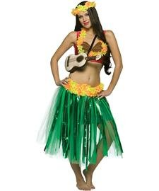 Dashboard Hula Girl Adult Costume Size -