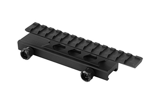 Monstrum Tactical Lockdown Series Lightweight Riser Mount | High Profile | 5.5 inch L / 13 Slot