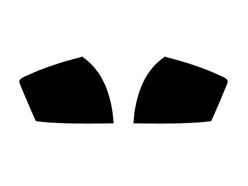 Rtint Tail Light Tint Covers for Audi A4 2002-2005 (Sedan) - Blackout Smoke