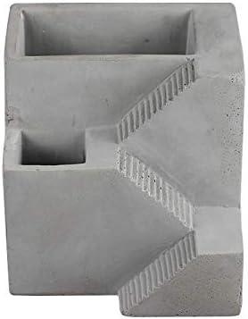 Nicole シリコーンセメント型スクエアフォート形状コンクリートフラワーポット型盆栽プランターツール