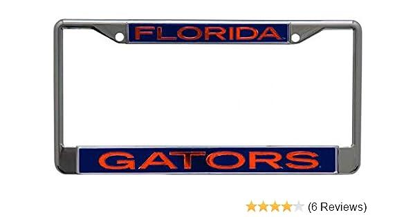 University of S25752 LIC PLT Frame S//L Metallic WinCraft Florida