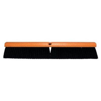 No. 11 Line Floor Brushes - 36'' red & black plasticfloor brush less