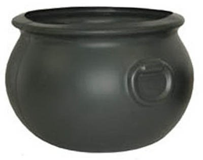 Cauldron 16 Inch Plastic Black Party Accessory (1