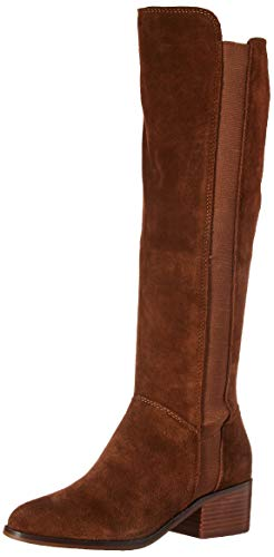 (Steve Madden Women's Giselle Chestnut Suede Boot Casual 7.5 US)
