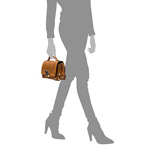 Clutch donna cuoio Borsa pelle Colore VERA tracolla di genuine FIRENZE Chiusura 23x15x12cm in a Borsa esclusiva Borsa ITALY mano lusso Camoscio BLU e Ruga ITALIANA Borsa Made Cuoio ARTEGIANI vera PELLE SqnfWRWxYE