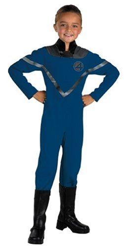 Costume Fantastic Woman Four Invisible (Fantastic Four Invisible Woman Standard Child Costume: Size)