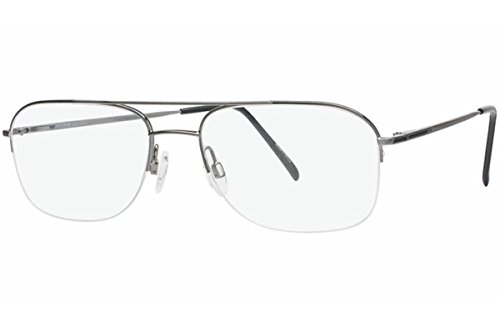 Aristar By Charmant Men's Eyeglasses AR6764 AR/6764 505 Grey Optical Frame 56mm