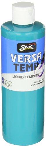(Sax Versatemp Heavy-Bodied Tempera Paint, Turquoise, 1)