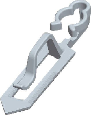 dyno-seasonal-solutions-21410-25-count-clay-tile-roof-clip-by-dyno-seasonal-solutions