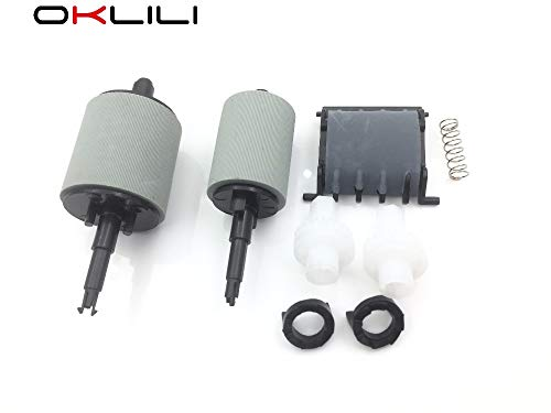 Printer Parts CF288-60016 CF288-60015 A8P79-65001 ADF Feed Pickup Roller Separation Pad Kit for HP Pro 400 M401 M425 M525 M521 M476 M570 M521 ()