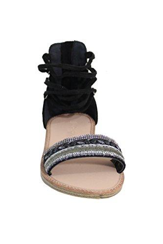 Mujer Shoes Negro para By Sandalias qR0wxC7