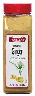 Ginger, Ground, 7 oz