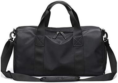 多機能ポータブルポータブルキャパゴルフの服バッグ防塵独立靴ポジションドライとウェットの分離デザインブラック HMMSP (Color : A)