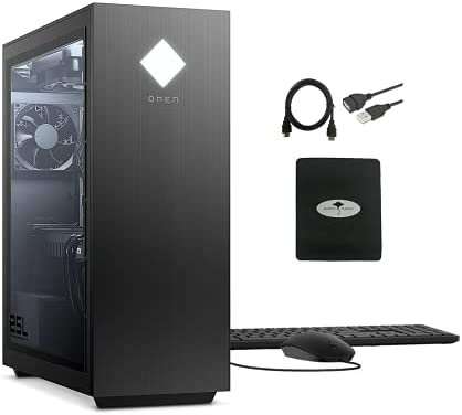 2021 Newest HP omen 25L Gaming Desktop Computer,...