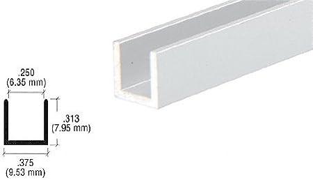 3 Pack 8 FT 5//16 Diameter Clear Anodized Aluminum Rod 8 FT 5//16 Rod 96
