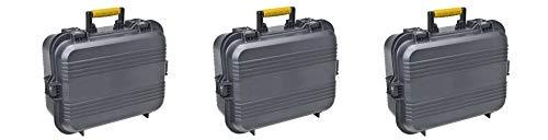 Plano 108031 AW XL Pistol/Accessories Case Black (Pack of 3) (Plano 108031 Aw Xl Pistol Accessories Case Black)