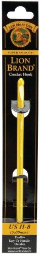 Lion Brand Yarn 400-5-8007 Crochet Hook, Size H-8, 5mm