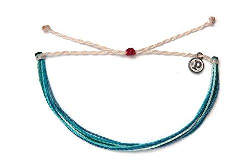 Pura Vida Save The Dolphins! Bracelet- 100% Waterproof Wax Coated Girls' Accessories- Handmade