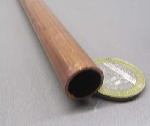 1 Pc. 122 Copper Tube.375 OD x .245 ID x .065 Wall x 36 Length