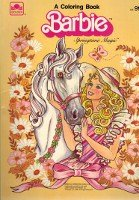 Barbie A Coloring Book Springtime Magic