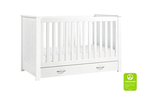 DaVinci Asher 3-in-1 Convertible Crib, White