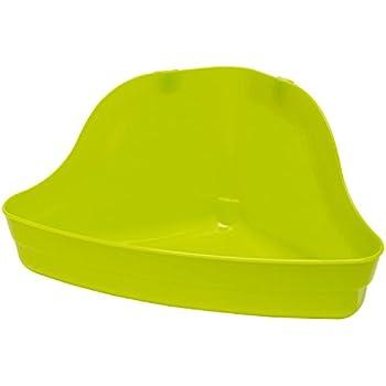 Kaytee Hi-Corner Litter Pan, Colors Vary