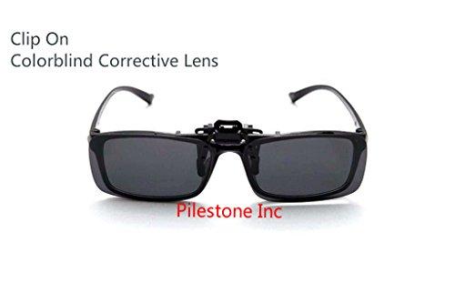 4ce237393c9e TP-004 Color Blind Glasses  180° Flippable Clip On Dark Lens ...