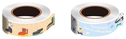 Yuri! on ICE X Sanrio characters Victor X Pompom pudding masking tape set 2 pieces, one piece. by Avex pictures (avex pictures)