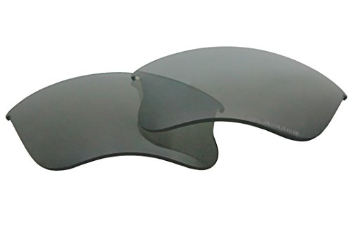 Polarized Replacement Sunglasses Lenses for Oakley Flak Jacket XLJ with UV Protection(Grey) by C.D.