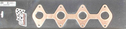 SCE Gaskets 4246 Pro-Copper Exhaust Gasket for 4.6L Ford 3V - Copper Gaskets Ford