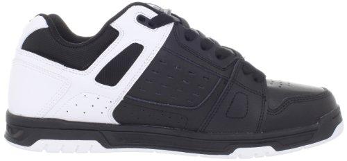 para DC Whi STAG de Schwarz Negro Black hombre cuero Black D0320188 Shoes Zapatillas rxrqSwYgH