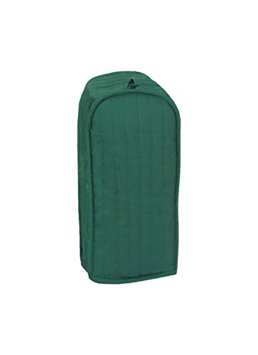 RITZ Polyester / Cotton Quilted Blender Appliance Cover, Dust and Fingerprint Protection, Machine Washable, Dark Green