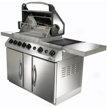 Hybrid Natural Gas Grill - Prestige V PF450 Gas Grill Fuel: Natural gas