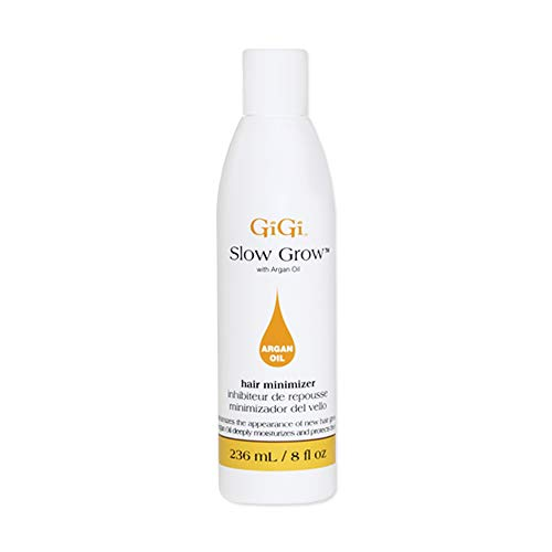 Gigi Slow Grow Lotion with Argan Oil, 8 Fluid Ounce