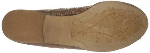 Bos. & Co. Kvinna Falla Oxford Tan Mjukt Dopp Läder