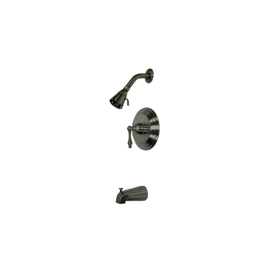 Elements of Design EB3635PL St. Louis Single Handle Tub and Shower Faucet, Oil Rubbed Bronze