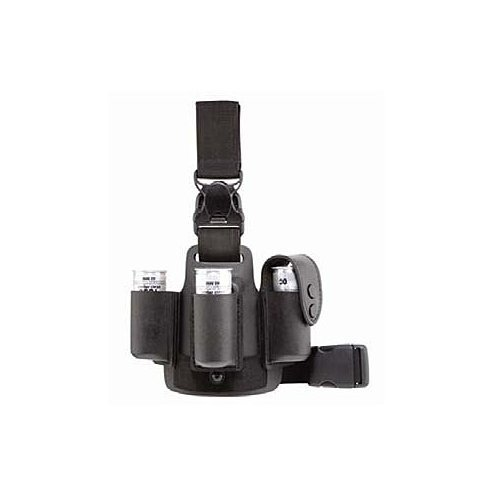 Safariland 6005-110 Lightweight Leg Shroud w/Quick Release, Black, 6005-110-2