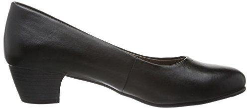 de 22360 Zapatos Tacón Mujer Negro 001 BLACK para Softline RwgxFqw