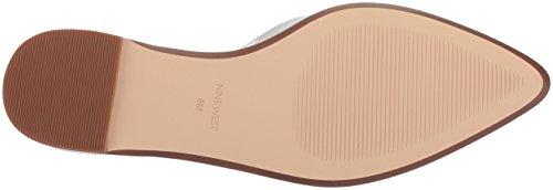 Sandalo Piatto Metallico Argento Oriona Delle Nove Donne Delloccidente / Metallico