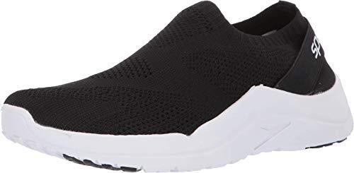 Speedo Women's Surf Knit Ultra Water Shoe, Black/White, 7 Regular US