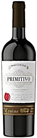 VINHO LE CASINE PRIMITIVO TINTO 750ML ITALIA